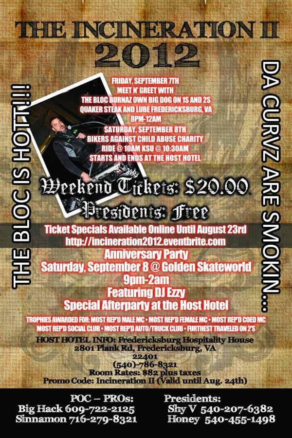 Bloc Burnaz Weekend Flyer 2