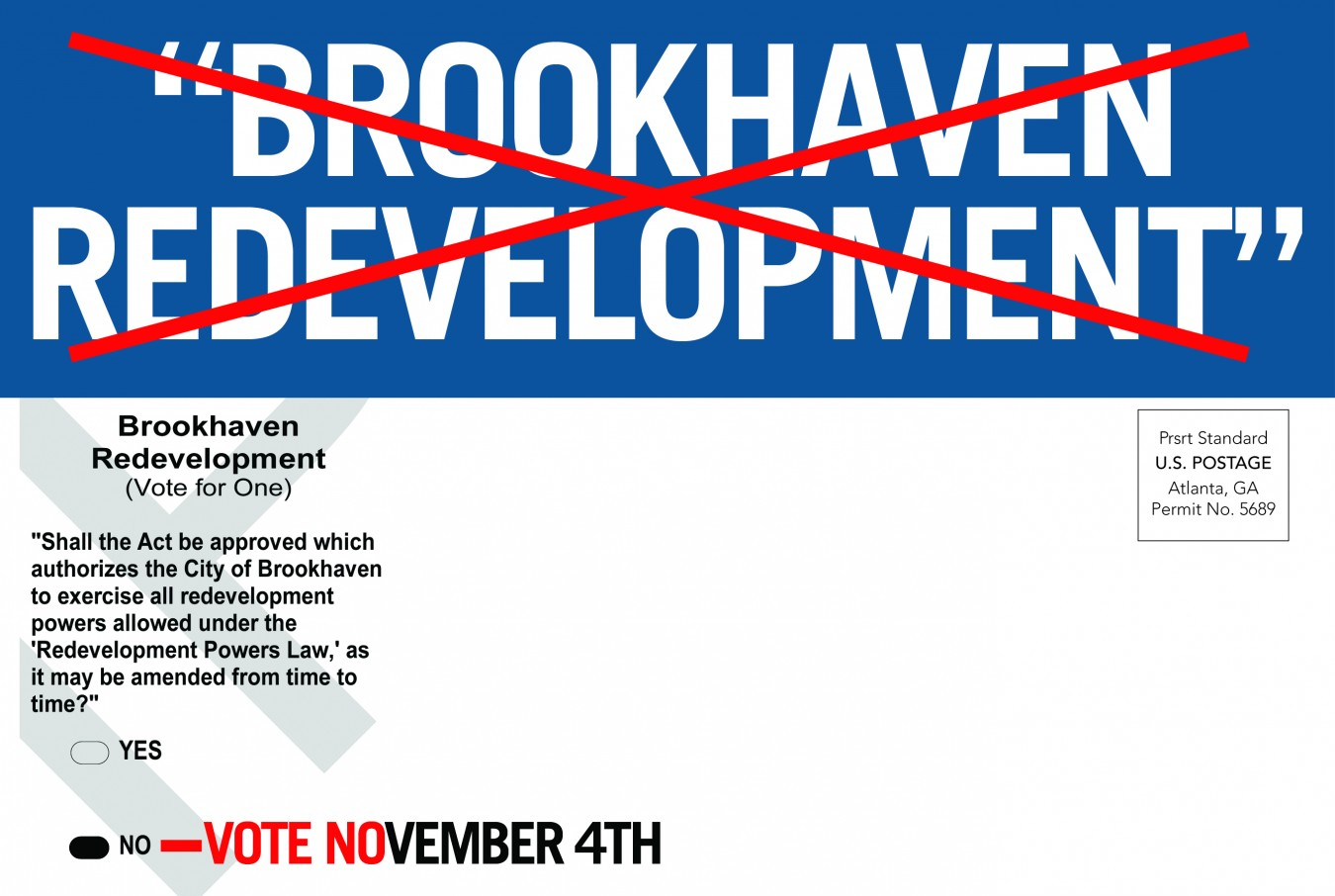 Say No To Brookhaven Redevelopment