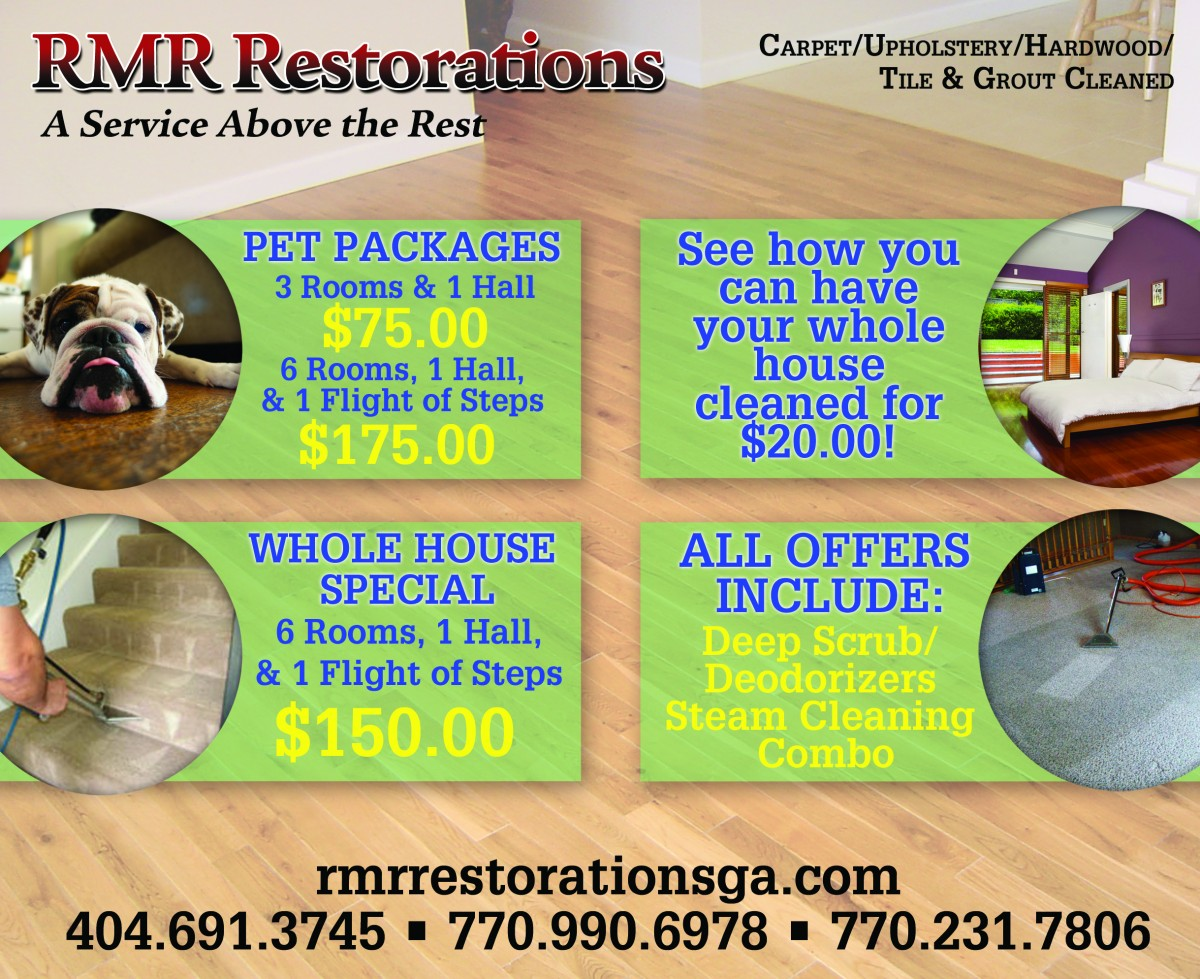 RMR Restorations Flyer