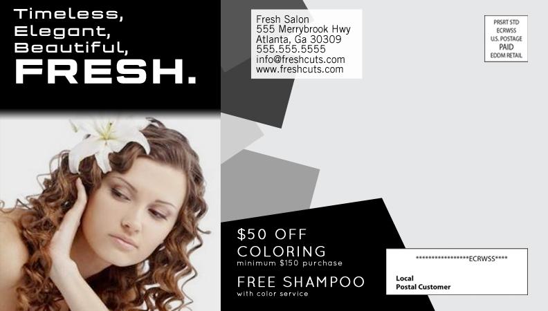 Fresh Salon Flyer