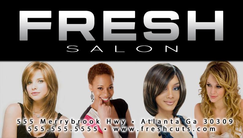 Fresh Salon Mailer 2