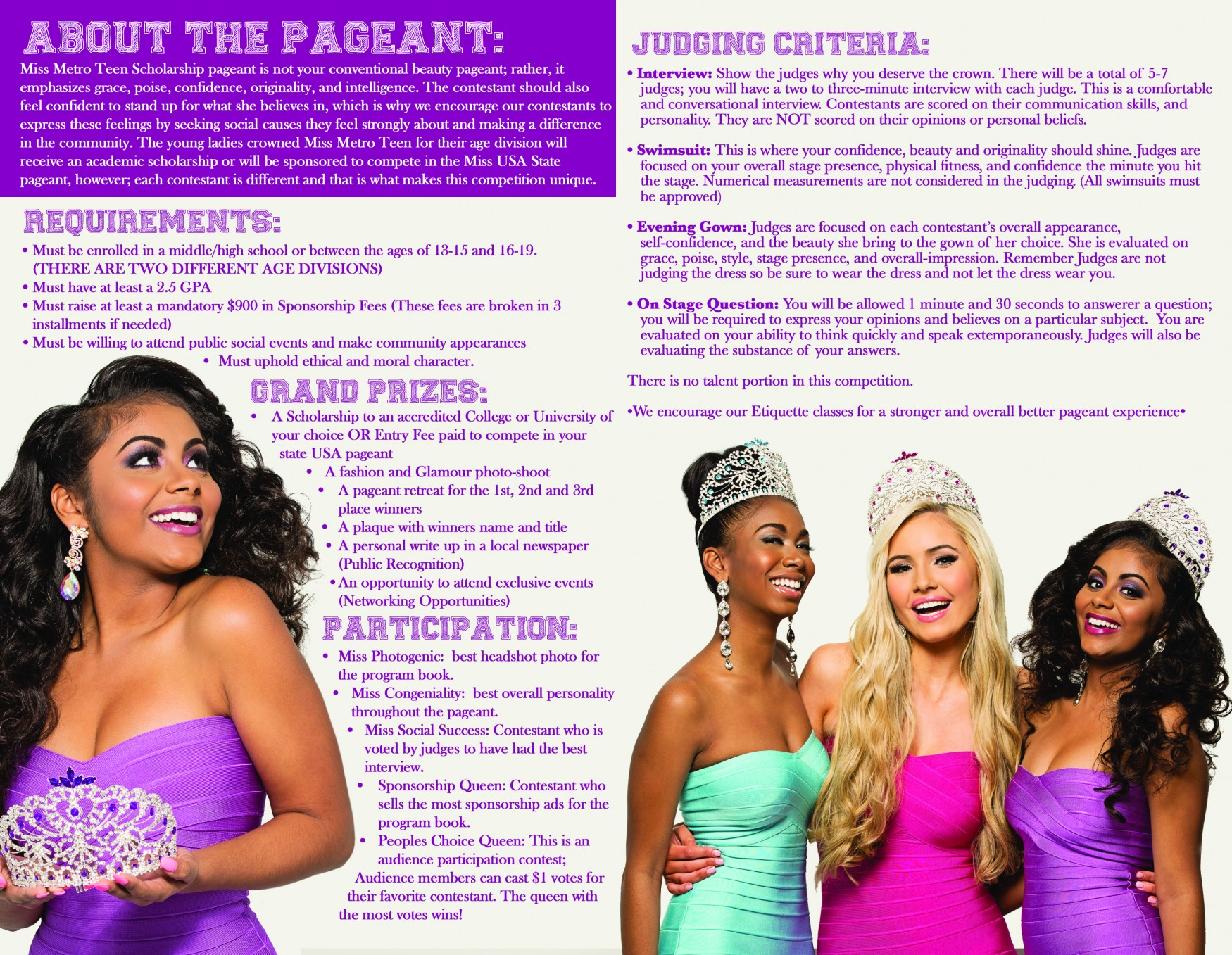 Miss Teen USA Brochure 2