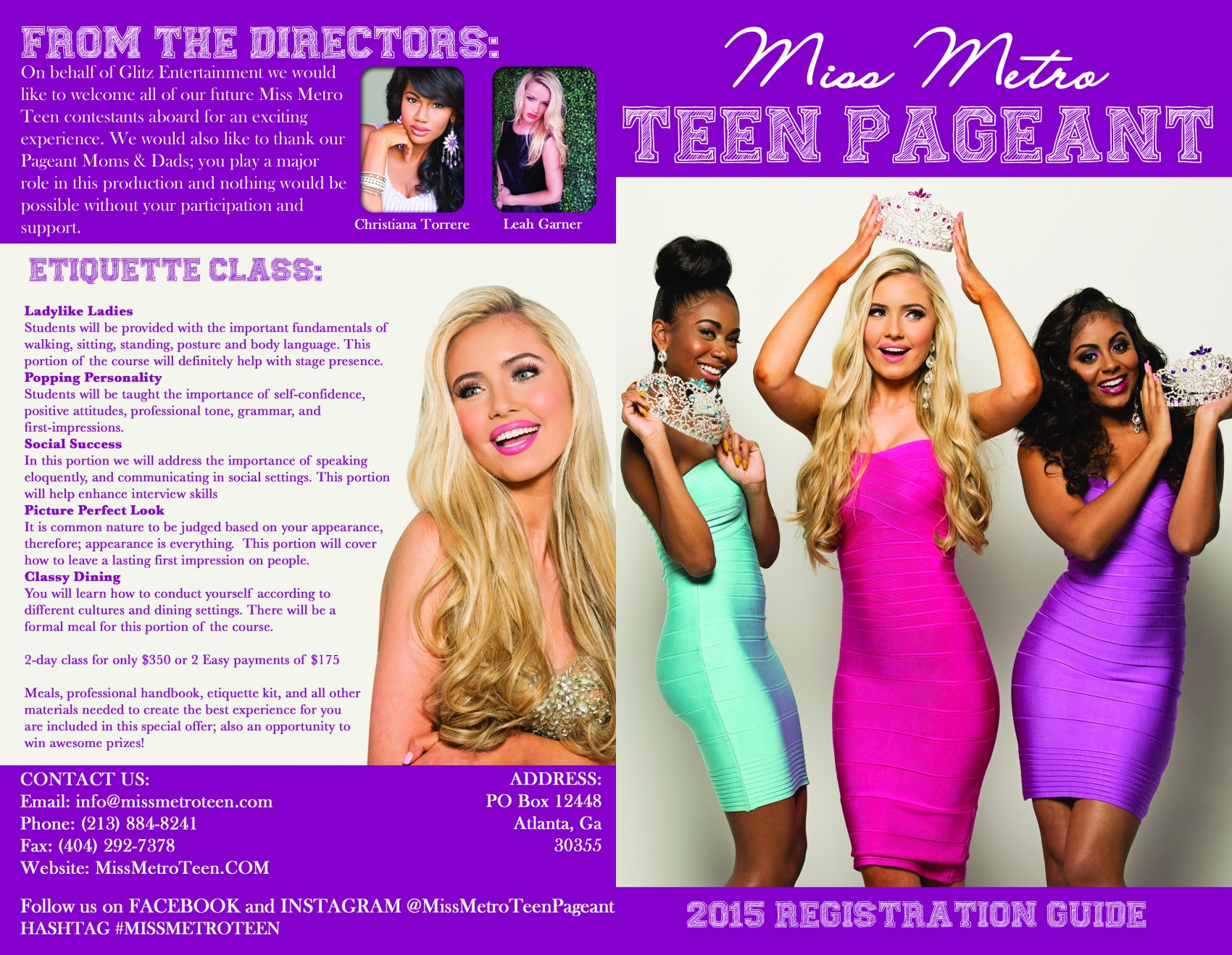 Miss Teen USA Brochure