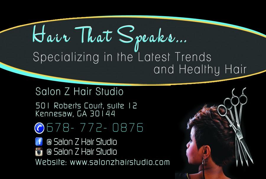 Salon Z Hair Studio Flyer